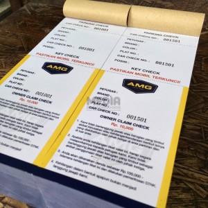 Harga cetak voucher amp tiket ekonomis art paper 120 1 sisi 2 rim | HARGALOKA.COM