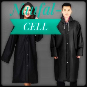 Harga jas hujan portable raincoat poncho with hood   | HARGALOKA.COM