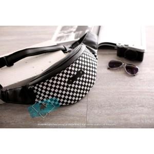 Harga tas slempang waistbag tas pinggang wenang pria dan wanita warna | HARGALOKA.COM