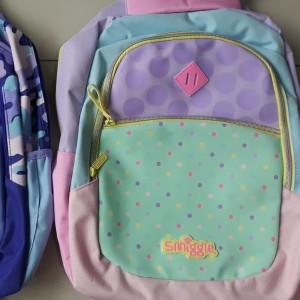 Harga tas anak perempuan smiggle bag ransel anak tas cewe tas smiggle   merah   HARGALOKA.COM