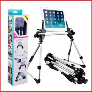 Harga holder stand tablet ipad pc adjustable travel size portable murah | HARGALOKA.COM
