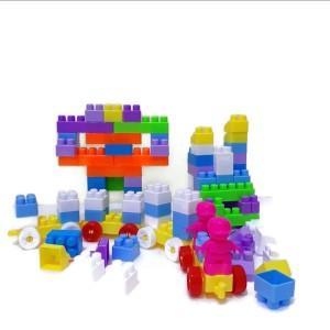 Harga block lego tas isi 102 pcs smar bar mainan edukasi | HARGALOKA.COM