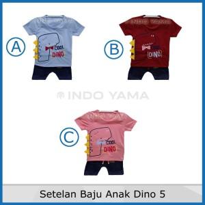 Harga setelan baju anak dino | HARGALOKA.COM