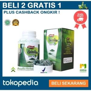 Harga vitamin untuk meningkatkan daya tahan tubuh   spirulina 100 | HARGALOKA.COM