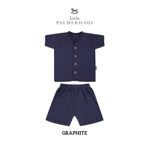 Harga little palmerhaus button tee short sleeve graphite   0 3 | HARGALOKA.COM