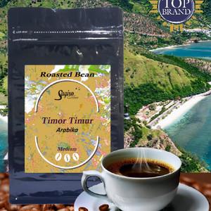 Harga kopi arabika timor timur 100gr   roasted bean m biji sangrai   medium biji   HARGALOKA.COM