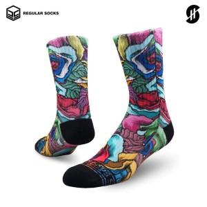 Harga stayhoops   kaos kaki fashion olahraga   veined | HARGALOKA.COM