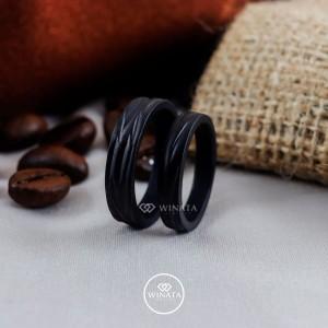 Harga cincin couple perak tunangan lamaran nikah free ukir | HARGALOKA.COM