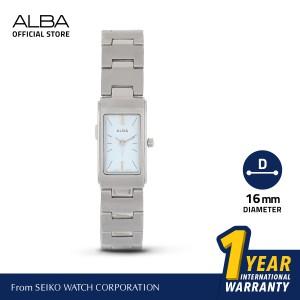 Harga jam tangan wanita alba quartz stainless steel ac3a81 ac3a81x1 | HARGALOKA.COM