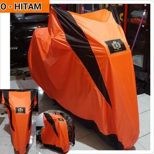 Harga cover mantel sarung motor bebek warna cerah yamaha new nmax xmax lexy   orange | HARGALOKA.COM