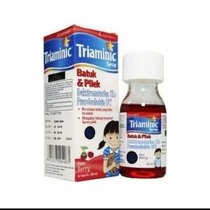 Harga triaminic batuk amp pilek sirup 60ml obat batuk kering amp pilek   HARGALOKA.COM