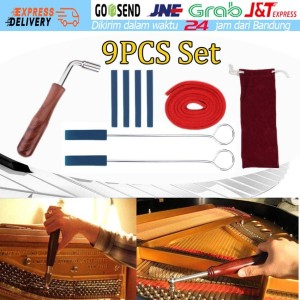 Harga 9 pcs piano tuning palu wol bisu strip alat tuning piano alat   HARGALOKA.COM