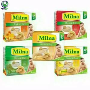 Harga milna biskuit bayi 6 130gr milna biscuit bayi snack bayi   | HARGALOKA.COM