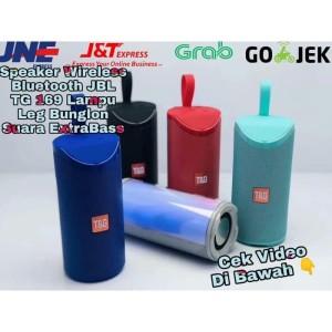 Harga speaker music box portable wireles jbl tg 169 lampu led bunglon | HARGALOKA.COM