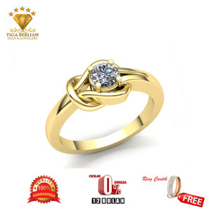 Harga cincin berlian eropa cbe28   HARGALOKA.COM