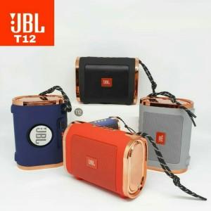 Harga speaker bluetooth jbl t12 portable speker music box wireless t12   | HARGALOKA.COM