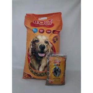 Harga makanan anjing murah dog food bolt repack   HARGALOKA.COM