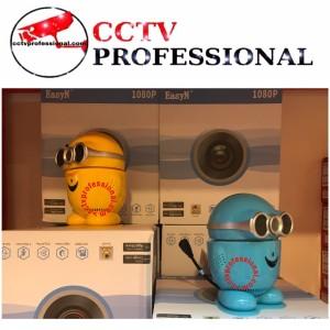 Harga babycam minion camera ip wifi wireless gampang di pasang babycam | HARGALOKA.COM