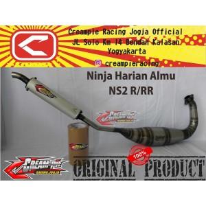 Harga knalpot muffler creampie ninja harian ns2 original | HARGALOKA.COM