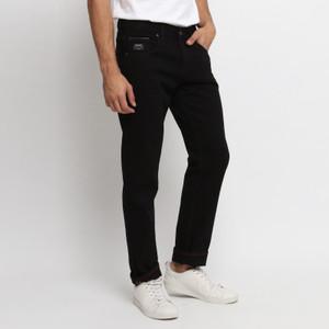 Harga papperdine jeans 311 black selvedge non stretch celana pria panjang     HARGALOKA.COM