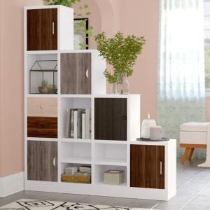 Harga rak buku duco minimalis model box partisi ruangan | HARGALOKA.COM