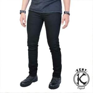 Harga celana jeans slimfit kent original murah berkualitas   biru | HARGALOKA.COM