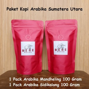 Harga paket kopi arabika sumatera utara 100 gram bubuk biji coffee bean   biji | HARGALOKA.COM