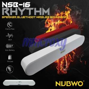 Harga nubwo nsb 16   speaker bluetooth | HARGALOKA.COM