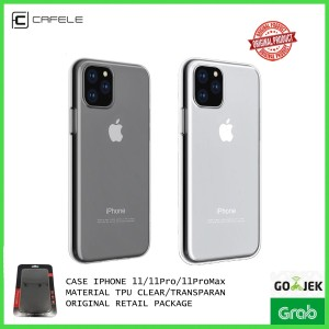 Harga case iphone 11 pro 11 pro max cafele original casing transparan murah   ip 11 pro | HARGALOKA.COM