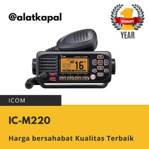 Harga icom ic m220 vhf marine radio harga murah pengganti | HARGALOKA.COM