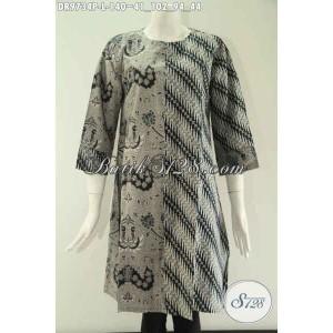 Harga dress batik wanita tren masa kini kombinasi 2 motif size l | HARGALOKA.COM