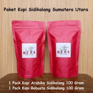 Harga paket kopi sidikalang sumatera utara 100 gram bubuk biji coffee bean   biji | HARGALOKA.COM
