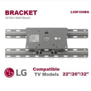 Harga bracket bracket tv 32 29 28 26 24 22 20 inch original lg made in   HARGALOKA.COM