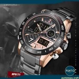 Harga jam tangan pria naviforce 9171 nf9171 nf 9171 | HARGALOKA.COM