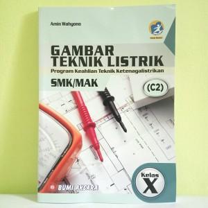 Harga buku gambar teknik listrik c2 smk mak kls x kur   13 edisi | HARGALOKA.COM
