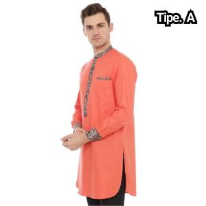 Harga baju koko pria lis batik murah muslim pria pakistan modern   tipe a | HARGALOKA.COM