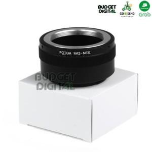 Harga fotga lens adapter lensa m42 to body sony e mount m42   nex   HARGALOKA.COM