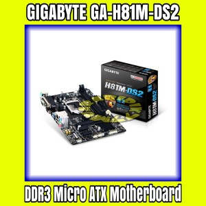 Harga gigabyte ga h81m ds2 h81 lga1150 ddr3 micro atx | HARGALOKA.COM