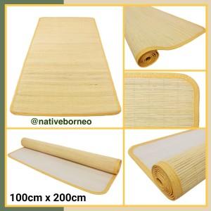 Harga karpet tikar lampit rotan saburina 100cm x   HARGALOKA.COM