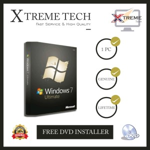 Harga windows 7 ultimate license original free dvd | HARGALOKA.COM