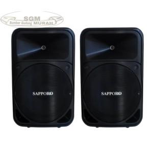 Harga speaker bluetooth sapporo active pasive 15 inch original garansi | HARGALOKA.COM