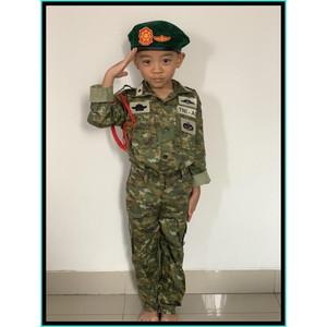 Harga baju loreng tni kostrad baju militer kostrad baju tni ad kostrad anak   | HARGALOKA.COM