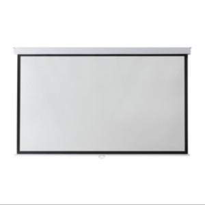 Harga screen projector 80 34 16 9 manual layar proyektor 80 34 16 9 | HARGALOKA.COM