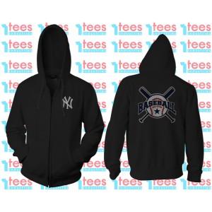 Harga jaket hoodie zipper resleting baseball pria | HARGALOKA.COM
