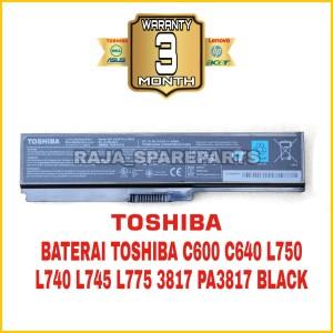 Harga baterai original laptop toshiba satellite c640 c645 c600 l740 | HARGALOKA.COM
