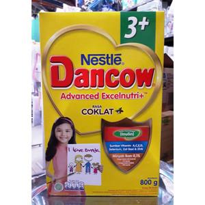 Harga susu bubuk nestle dancow 3 coklat 800 gr | HARGALOKA.COM