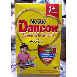 Harga susu bubuk nestle dancow 1 coklat 1 3 tahun 800 gr | HARGALOKA.COM