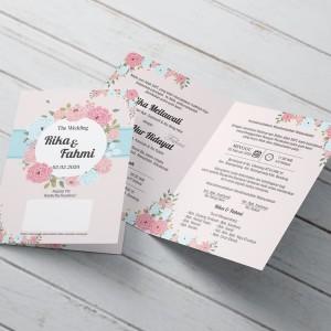 Harga jasa pembuatan undangan pernikahan unik tema vintage bahan | HARGALOKA.COM