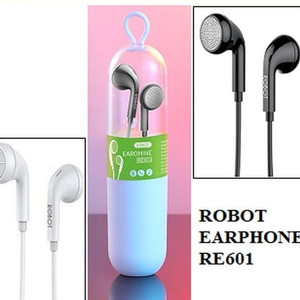 Harga handsfree robot re 601 headset robot original hd microphone bass | HARGALOKA.COM