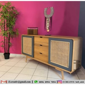 Harga furniture sideboard buffet tv | HARGALOKA.COM